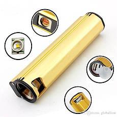 4 в 1 - Фонарь + Power bank + зажигалка + открывалка B-818 (Cree XPE, 4 режима, USB), фото 3