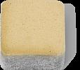 Брусчатка 100х100х80 мм, цвет Сахара, Жемчужина, Янтарь, фото 2
