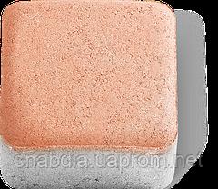 Брусчатка 100х100х80 мм, цвет Сахара, Жемчужина, Янтарь, фото 3