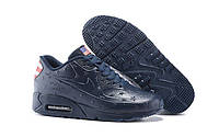 "Кроссовки Nike Air Max 90 VT Independence Day ""Dark Blue"" - ""Синие"" (Копия ААА+), фото 1"