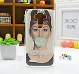 Чехол для LG G4/H818/H810/F500 панель накладка с рисунком монро, фото 4