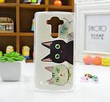 Чехол для LG G4/H818/H810/F500 панель накладка с рисунком узоры, фото 10