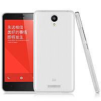 Чехол накладка силиконовый TPU Ultrathin Series 0,33mm для Xiaomi Redmi Note 2 прозрачный