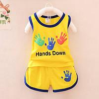 """Комплект для мальчика,летний """"Hands Down"""""""