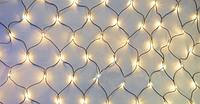 Новогодняя светодиодная гирлянда 120 NET W Сетка ( 120 светодиодов ) Цвет белый