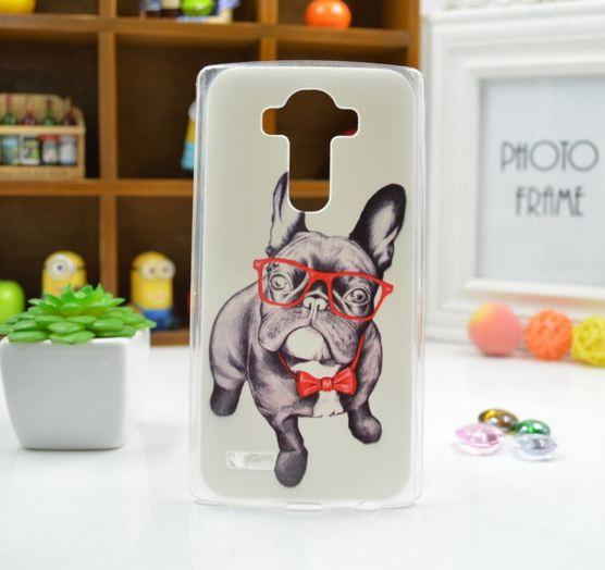 Чехол для LG G4/H818/H810/F500 панель накладка с рисунком дог