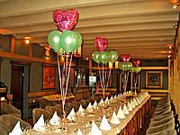 Свадебные букеты из воздушных и гелиевых шаров