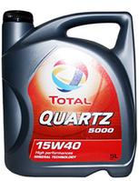 Минеральное моторное масло TOTAL(тотал) QUARTZ 5000 15w40 4л.