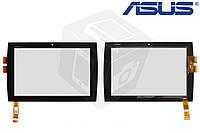 Touchscreen (сенсорный экран) для Asus Eee Pad Slider SL101, черный, оригинал
