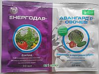 Енергодар 30мл + Добриво Авангард 30мл фунгіцид-стимулятор для розсади, огірків