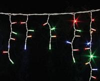 Новогодняя светодиодная гирлянда 120P ICICLE M Сосулька ( 120 светодиодов ) Цвет RGB