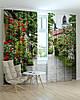 Фотошторы прекрасный сад из цветов, фото 3