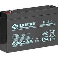 Аккумуляторная Батарея B. B. Battery Hr 9-6