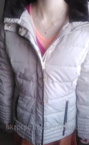 Распродажа женская новая куртка 50 размер,  модный континент украина, фото 2