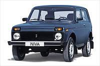 Защитные дуги заднего бампера Lada Niva (1995-2015)
