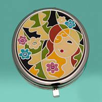 """Зеркало """"Девушка в цветах"""""""