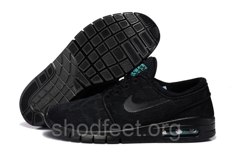 Мужские кроссовки Nike SB Stefan Janoski Max All Black