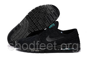 Мужские кроссовки Nike SB Stefan Janoski Max All Black