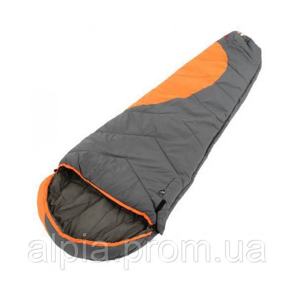 Спальный мешок Tramp Winnipeg TRS-003.02 оранжевый/серый (левый)