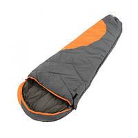 Спальный мешок Tramp Winnipeg TRS-003.02 оранжевый/серый (левый), фото 1