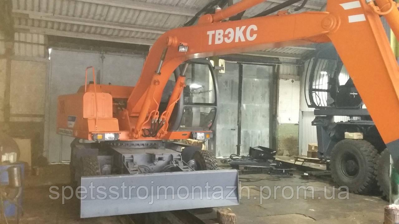 Новый экскаватор колесный ЕК-12-00 и запчасти купить в Украине, фото 1