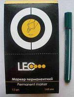 Маркер перманентный зеленый треугольный (2мм), L 2381-08/390269