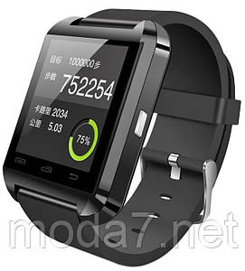 Смарт часы (Watch Smart U8) черные
