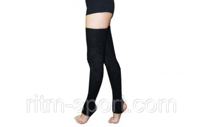 Гетры черные для танцев (длина 90 см), фото 2