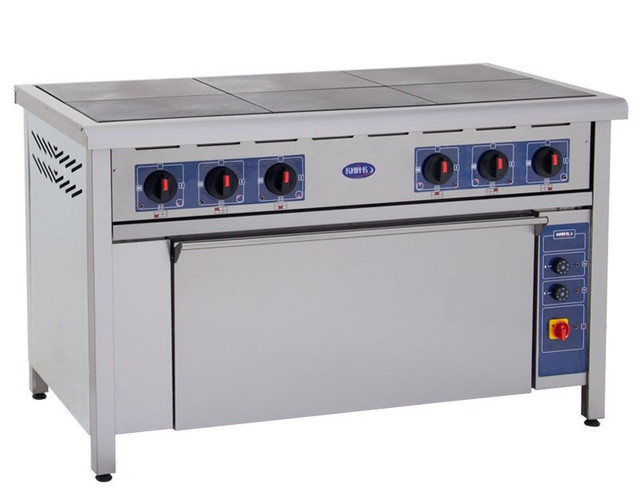плита электрическая с духовкой