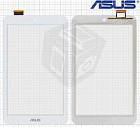 Touchscreen (сенсорный экран) для Asus MeMO Pad 8 ME180A, оригинальный (белый)