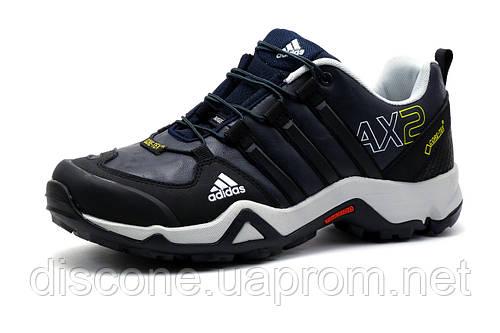 Кроссовки мужские Adidas Terrex AX2, темно-синие, кожа