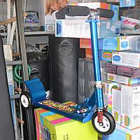 Самокат детский складной 3-х колесный (большие колёса)