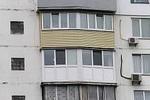 Балкон в серии дома БПС