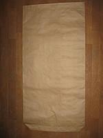 Мешок бумажный 50*100*10 3-х слойный , в буром крафте, на 25 кг продукции