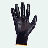 Перчатки стрейчевые с неполным нитриловым покрытием арт.4522 DOLONI