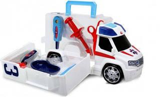 Машинка Скорая помощь с инструментами Dickie 3716000
