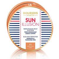 Bourjois Sun Illusion - Bourjois Основа под макияж компактная с эффектом сияния Буржуа Сан Иллюзион Вес: 18гр., Цвет: 71 Hale Clair Fair