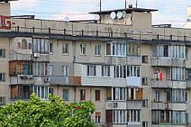 "Ещё один вид чешског проекта. Серия дома ""Чешка с шахматными балконами"""