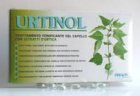 Ампулы с экстрактом крапивы от жирной кожи головы и себореи Dikson URTINOL 10*10 мл