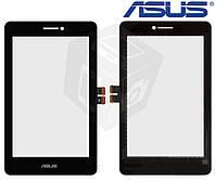 Touchscreen (сенсорный экран) для Asus MeMO Pad HD7 Dual SIM ME175KG (K00S), черный, оригинал