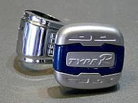 Type R - Лентяйка, универсальная ручка руля, Silver & Blue, TL-54