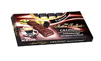 Темный шоколад Maitre Truffout с начинкой кофе эспрессо, 8 х 12,5 г.