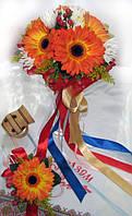 Букет невесты «Украинка» + бутоньерка