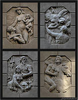 Скульптуры бюсты барельефы в Украине, фото 1