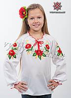 "Вышиванка на девочку, арт. арт. 0191 ""Маки"""