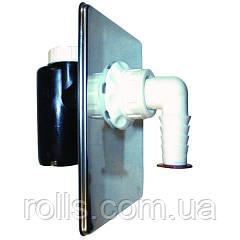 HL440 Сифон для посудомоечной или стиральной машины скрытой установки