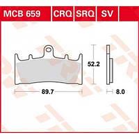 Suzuki/Kawasaki тормозные колодки TRW / Lucas MCB659SV