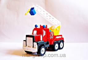 """Машина пластикова """"МАК пожарка"""", 22см, МГ-147, Maxgroup"""