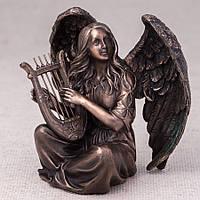 Статуэтка Veronese Ангел с арфой 18 см 76365