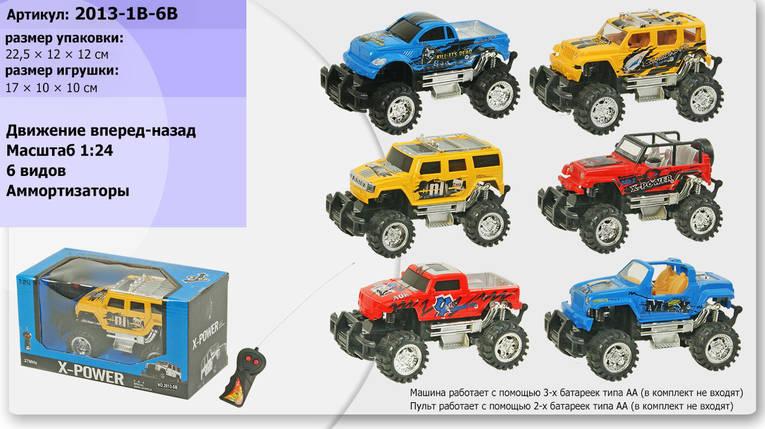 Радіокерована Машина на батарейках, 6 видів, 2013-1B-6B, фото 2